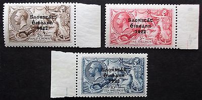 (A348) Ireland 1927-28 #86-88 Set of (3) LMH.