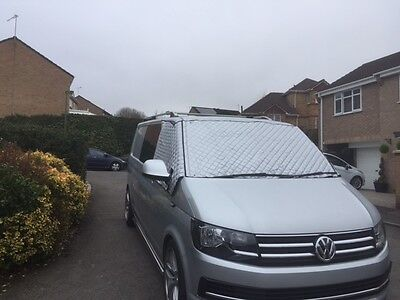 THERMAL INSULATED MOTORHOME SCREENS to fit VW T5 & T6