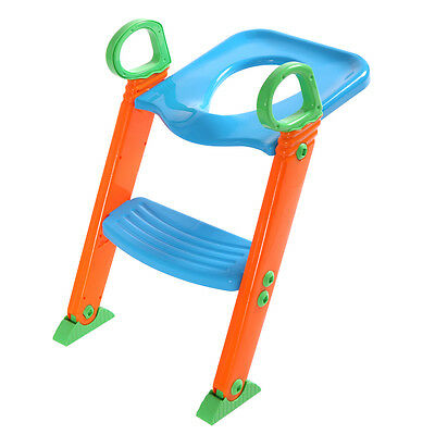 Kids Potty Training Seat  Toilet Chair with Step Stool Ladder for Child Toddler