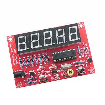 DIY Digital LED 1Hz-50MHz Crystal Oscillator Frequency Counter Meter Tester Kit