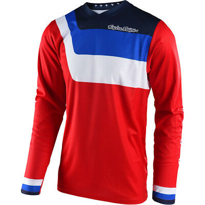NEW Troy Lee Designs 2018 Mx Gear GP Air Vented Prisma Red TLD Motocross Jersey