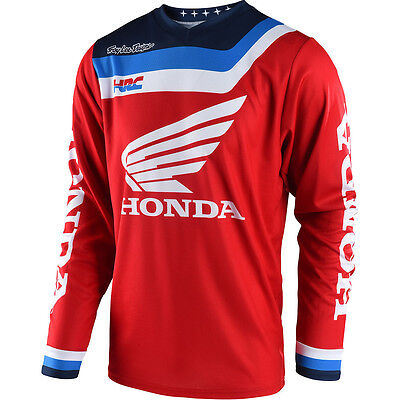 NEW Troy Lee Designs 2018 Mx Gear GP Air Prisma Red Honda TLD Motocross Jersey