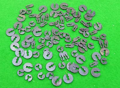 Antique clock split washers (assorted pack of 10)