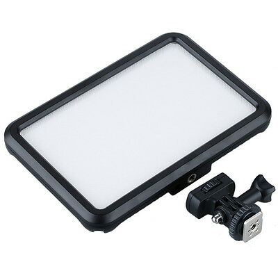 Ultra-thin On-Camera LED Video Light Dimmable Touch Panel for DSLR Nikon D1Q9