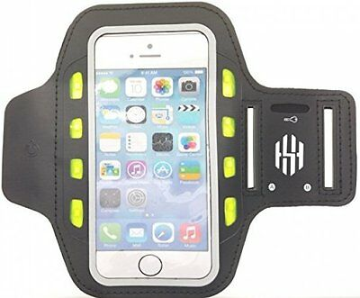 Hot Sky LED Fitness Arm Band for Running, Jogging & Cycling Adjustable - Black