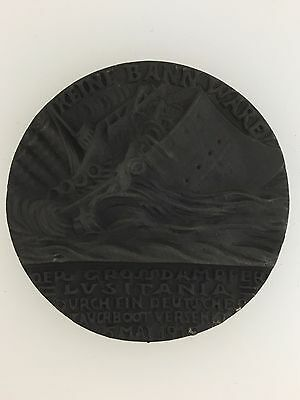Germany/German WWI Goetz medallion commemorating the sinking of the Lusitania