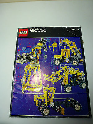 LEGO Technic INSTRUCTIONS ONLY 8074 Universal Set