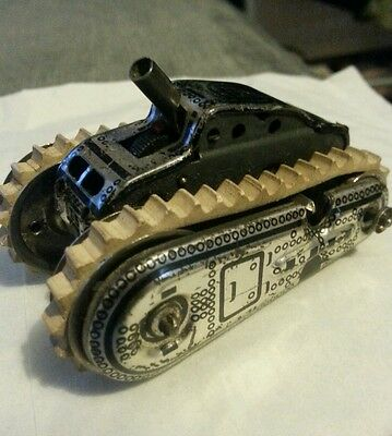Gama vintage toy tank , made in germany T56