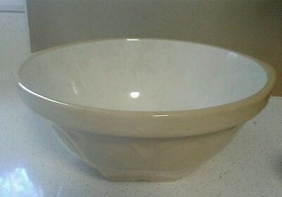 "T.G.Green Ltd. Gripstand Yellow Ware Mixing Bowl 9"" England"
