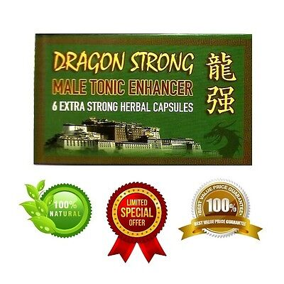 DRAGON STRONG Extra Strong Male Enhancement Natural Pills 450mg