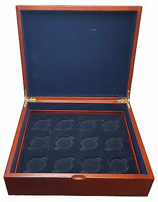 EMPTY Royal Mint Silver Crown Presentation Box - Stores 12 Coins
