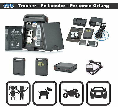 gps tracker peilsender f r auto motorrad kind ortung gps. Black Bedroom Furniture Sets. Home Design Ideas
