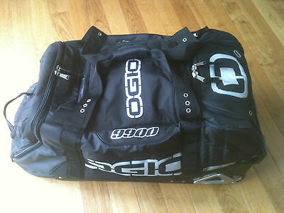 Ogio 9900 Gear Bag Used Excellent Condition Motocross ATV Cycling Black
