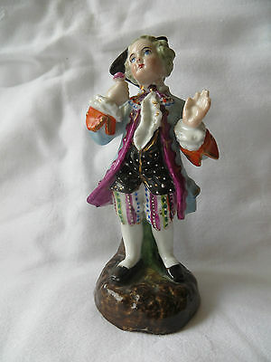 """Wonderful Hand Painted Victorian Porcelain Figurine  In Excellent Condition 5"""""""