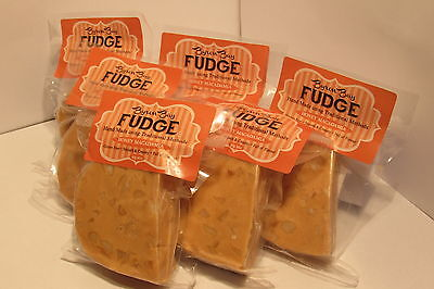 HONEY MACADAMIA FUDGE - Handmade Gluten and Preservative Free 6 x 60g Vac Sealed