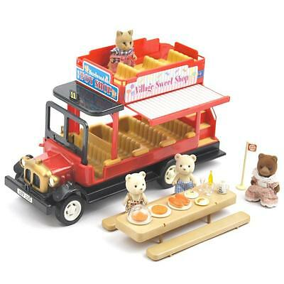 Sylvanian Families Vintage Village Bus Includes Figures and Picnic FREE Postage