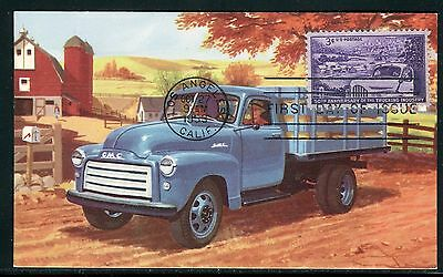 Etats Unis - Carte Maximum 1953 - Routiers , Camion