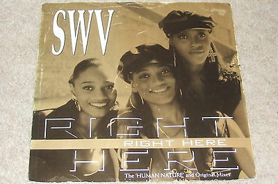 SWV ‎– Right Here (Human Nature Mix)    1993    R&B CLASSIC!!