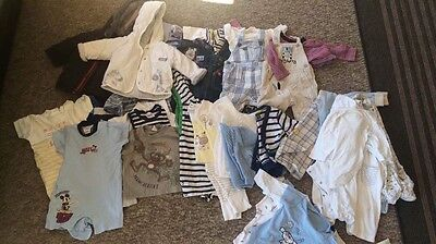 Boys 0-3 months 42 Item Clothing bundle mainly Next f&f H&M