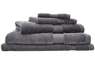 NEW Sheridan Ultra-Light Luxury Towel Range - Steel