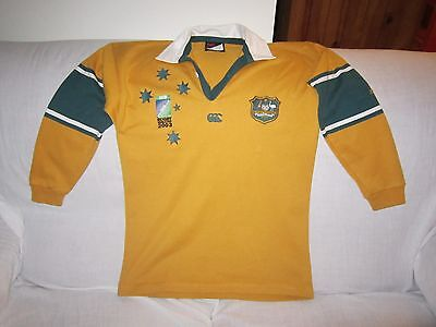 Wallabies 2003 World Cup Ccc Jersey Size 12