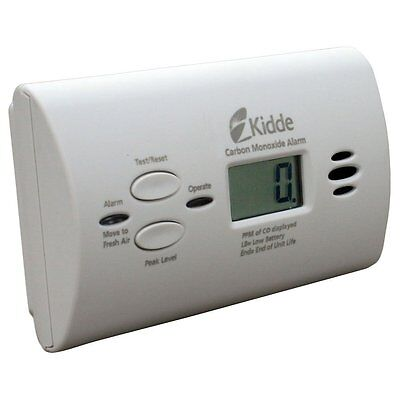 Kidde Battery-Operated Carbon Monoxide Alarm with Digital Display