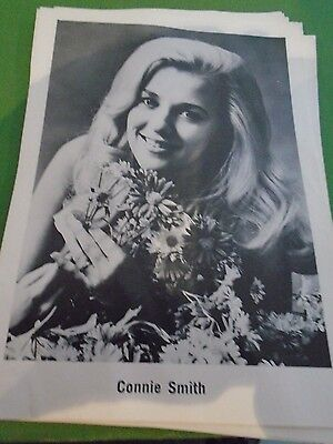 Original Vintage Country and Western B?W 6 x 4 Photo of Connie Smith