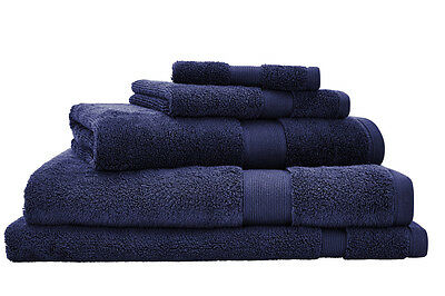 NEW Sheridan Ultra-Light Luxury Towel Range - Navy