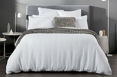NEW Sheridan Argentine Quilt Cover Set - White