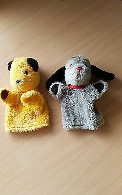 Sooty and Sweep With Squeaker Hand Puppets Retro Vintage Children's Tv  BBC