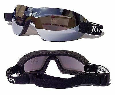 NEW- KROOPS IK-91 Skydiving Parachute Sports Goggles |100% UV400 Lenses