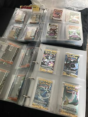76 Pokemon Booster Packs Including Base, Gym, Diamond, Neo & Complete POP Series