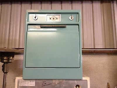 GE ELECTRIC IN WALL OVEN  AQUA TEAL vintage antique guessing mid 1950's