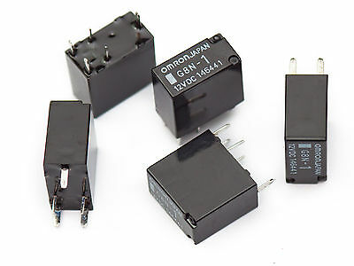 [1pc] OMRON G8N-1 automotive micro mini PCB relay 12Vdc 30A power window motor