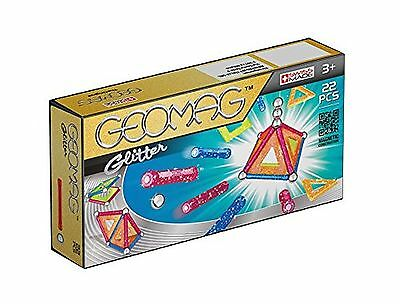 GEOMAG 530 Glitter Magnetic Construction Set (22-Piece)