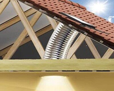 Velux Sun Tunnel TWF 14 Inch Diameter Flexible for TILES up to120mm in profile