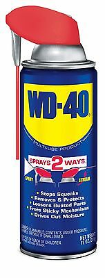 WD-40 Multi-Use Product - Multi-Purpose Lubricant with Smart Straw Spray. 11 ...
