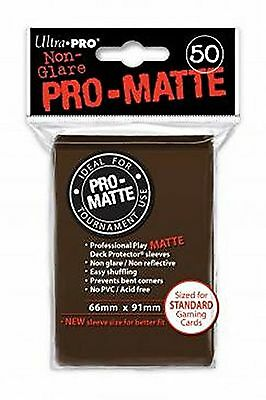 Ultra Pro SLEEVES Pro D12 Card Game (Matte Brown)