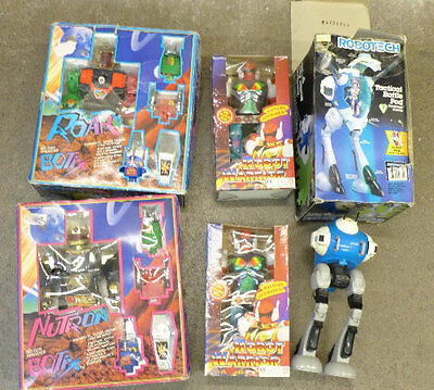 Collection Of 11 Vintage Retro  Collectors Robot Toys In Boxes
