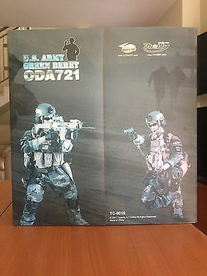 1/6 Action Figure Us Army Green Beret Oda 721