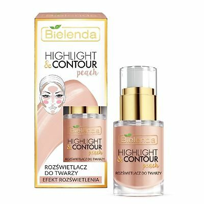 Highlight and Contour Peach Highlight Face Cream Contouring Effect Bielenda NEW