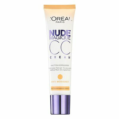 L'Oreal Nude Magique CC Cream Anti Fatigue 30ml