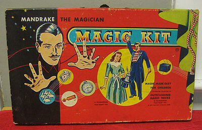 Mandrake the Magician Magic Kit 1949