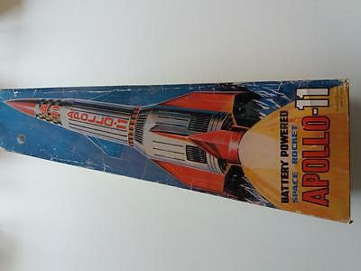 Rare Nomura (TN) Apollo 11 Space Rocket - working with orginial box and inserts