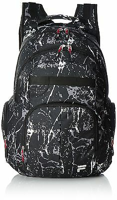 Fila School Backpack Black / Print (Black) - XS17FLB016 - 902