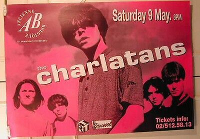 Charlatans The -  / Size : 70x100cm / VINTAGE POSTER SENT ROLLED