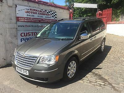 2010 CHRYSLER GRAND VOYAGER 2.8 CRD Limited 5dr Auto