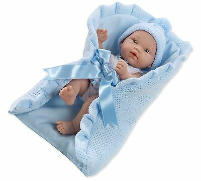 Arias 26 cm Elegance Pillines Doll with Lullaby (Blue)