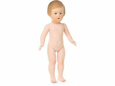 Petitcollin 40 cm Francoise Naked Doll with Painted Eyes