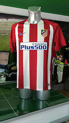 Maglia Calcio Shirt Jersey Football Atletico Madrid Nike Home Atm 2016/2017 Liga
